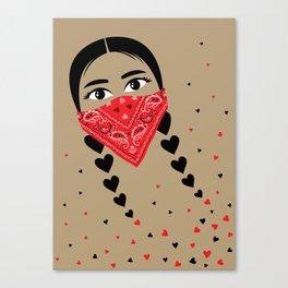 Love & Revolution Canvas Print