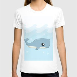Cute Kawaii Whale T-shirt