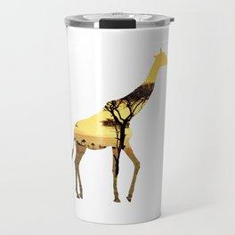 Giraffe Cutout 2 Travel Mug