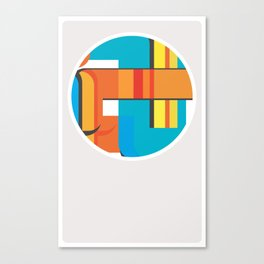 二二 Canvas Print