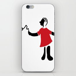 The little writter iPhone Skin