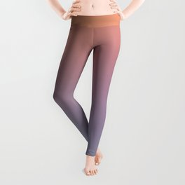 BUTTERFLY'S DREAM - Minimal Plain Soft Mood Color Blend Prints Leggings
