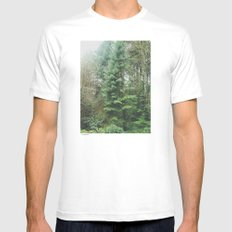 With the Trees Mens Fitted Tee White MEDIUM