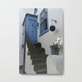 St Ives Door Metal Print