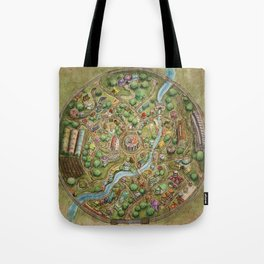Astranella Map Tote Bag