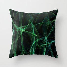 Summer lines 22 Throw Pillow