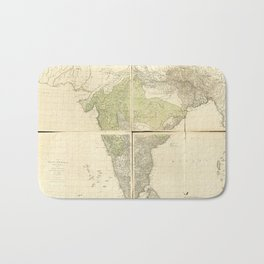 Map of the East Indies with the Roads (1768) Bath Mat