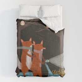 the fox mobile Comforters