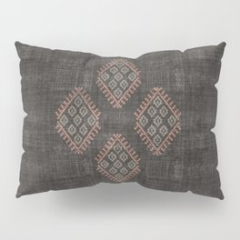 Kilim in Black and Pink Pillow Sham