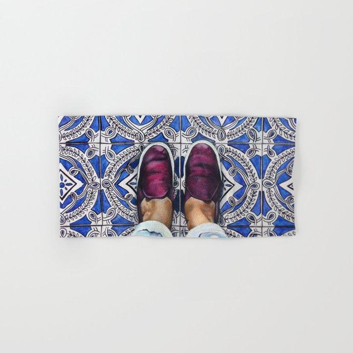 Art Beneath Our Feet - Ancona, Italy Hand & Bath Towel