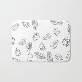 Tropical Plants Bath Mat