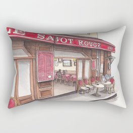 Frites and Mayo in Montmartre Rectangular Pillow