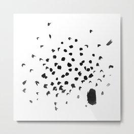Specks Metal Print