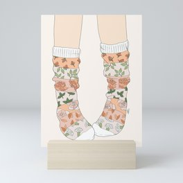 Spring Socks Mini Art Print