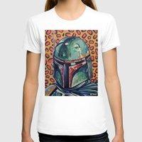 boba fett T-shirts featuring BOBA FETT by Jamil Zakaria Keyani