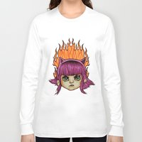warcraft Long Sleeve T-shirts featuring League of Legends Annie  by Danonymous84