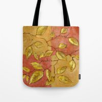 birch Tote Bags featuring Birch by Edith Jackson-Designs