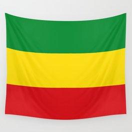 Flag of Ethiopia Ethiopian Rastafarian Flag Wall Tapestry