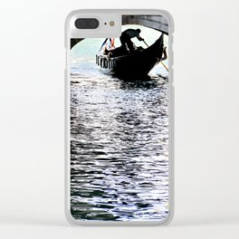 Rowing toward the Infinite Clear iPhone Case