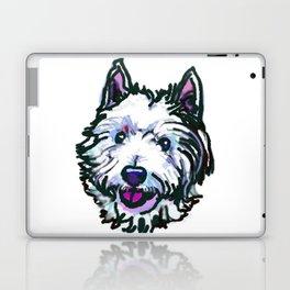 The Westie Dog Love of my Life Laptop & iPad Skin