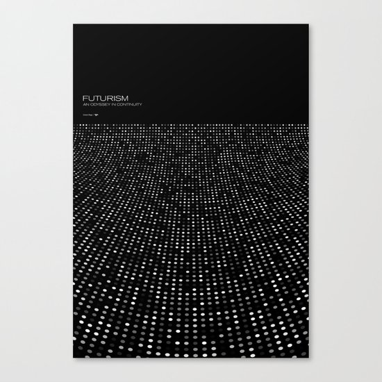 Futurism - Curved Space Canvas Print