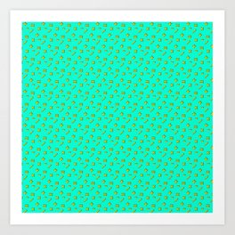 Doing Math #pattern #math Art Print