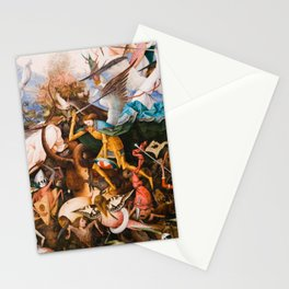 The Fall Of The Rebel Angels 1562 By Pieter Bruegel The Elder Stationery Cards