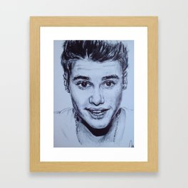 Teens Love Framed Art Print