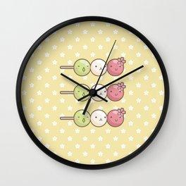 Hanami Dango Wall Clock