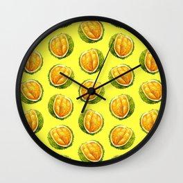 Durian pattern Wall Clock