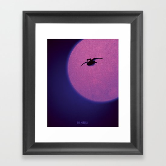 Tribute to a great man Framed Art Print