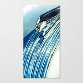 Profile In Chrome II Canvas Print