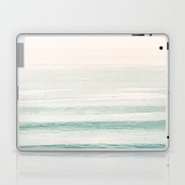 Washed Out Ocean Waves // California Beach Surf Horizon Summer Sunrise Abstract Photograph Vibes Laptop & iPad Skin