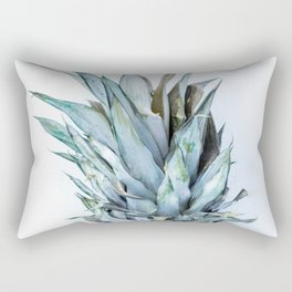 Ananas - Pineapple On A White Background #decor #society6 Rectangular Pillow