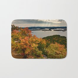 Autumn colors in New Hampshire Bath Mat