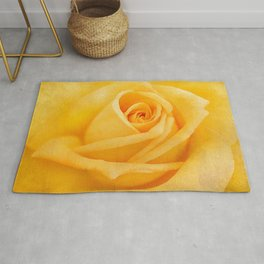Yellow Rose Rug