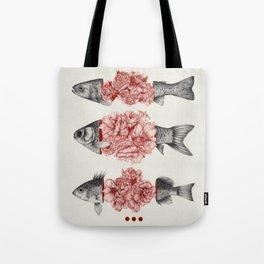 To Bloom Not Bleed  Tote Bag