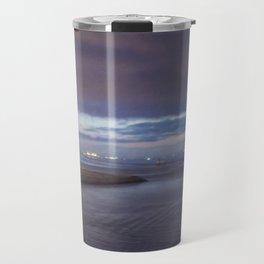 Daybreak at America's Port painterly Travel Mug