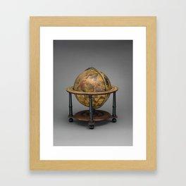 Historical Celestial Globe Photograph (1621) Framed Art Print