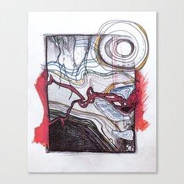 Under the ground Canvas Print