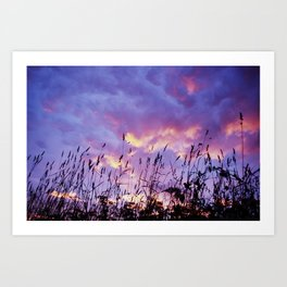 Sky Full of Clouds Art Print