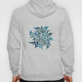 Floral Abstract 25 Hoody