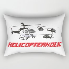 Professional Helicopter Pilot Rectangular Pillow