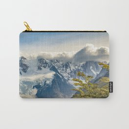 Snowy Andes Mountains, El Chalten Argentina Carry-All Pouch