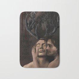 Hannibal and Will Bath Mat