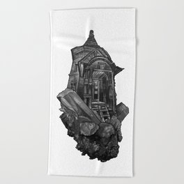 Selenite Lighthouse Beach Towel