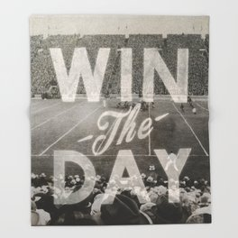 Win the Day Throw Blanket