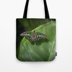 Green Triangle Tote Bag