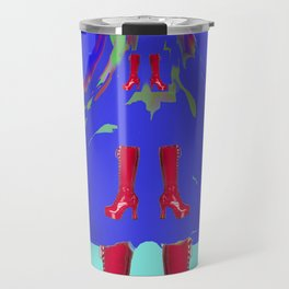 The Weight of Time on May - shoes stories Travel Mug