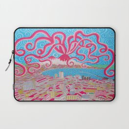 NapoliVesuvioOctopus Laptop Sleeve